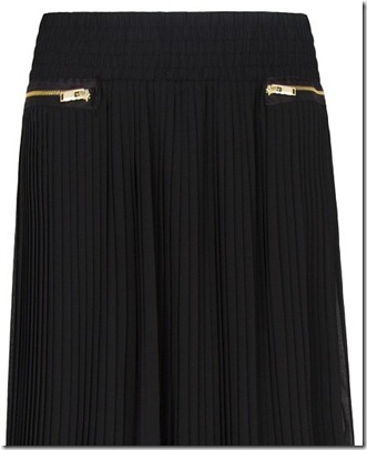 MG pleated zipper skirt3