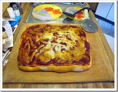 Sam's Home made Pizza