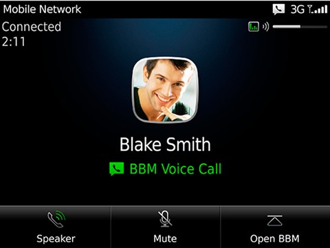 BlackBerry Messenger 7.1