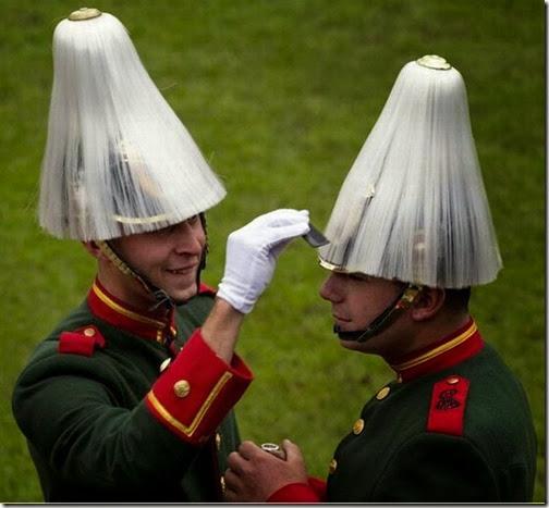 foto divertida  soldados