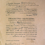 świadectwo ukończenia Gimnazjum Jerzego Wojtaśkiewicza 1938.jpg