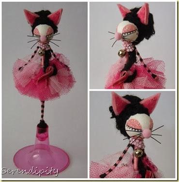 gata rosa