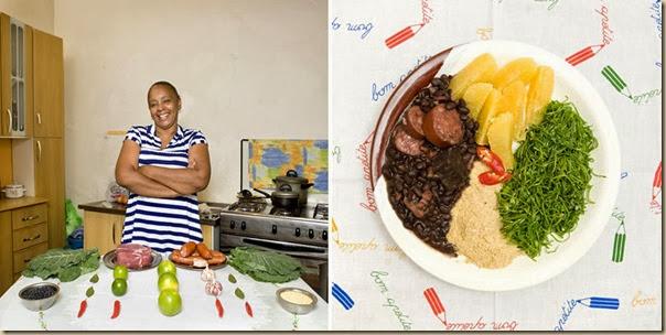 Portraits de grand-mères et leurs plats cuisinés (12)