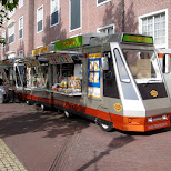 food train at huis ten bosch in Sasebo, Nagasaki, Japan