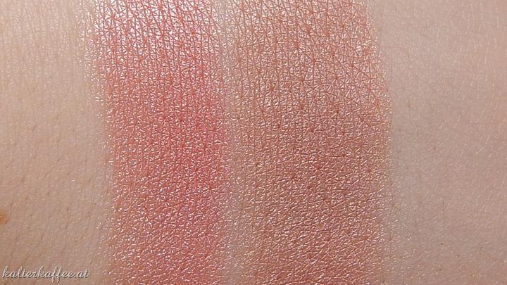 NYX baked blush swatch chiffon