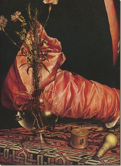 Holbein, portrait de Georges Gisze