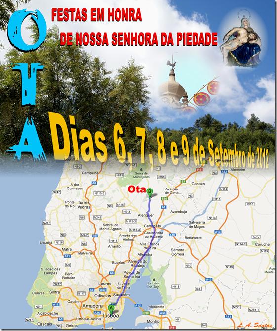 Percurso Lisboa - Ota (2)