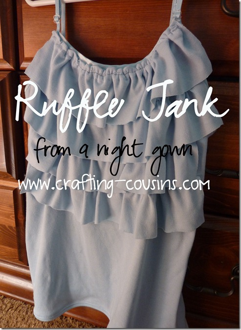 Crafty Cousins' ruffle tank tutorial (12)