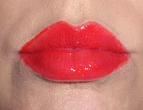 wearing NARS Wonder Lip Gloss