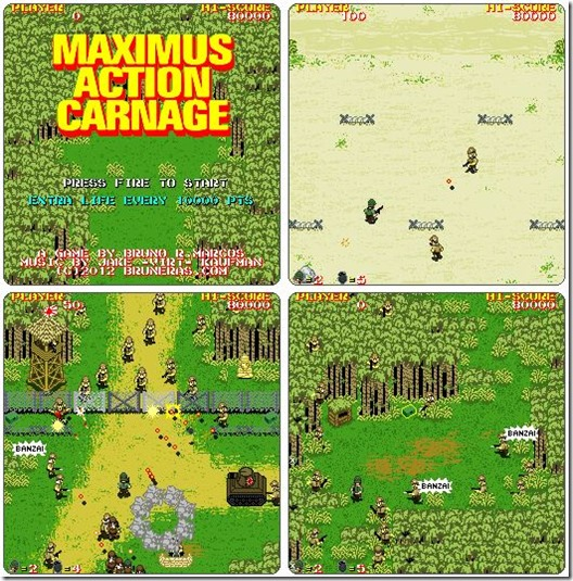 Maximus Action Carnage free indie game