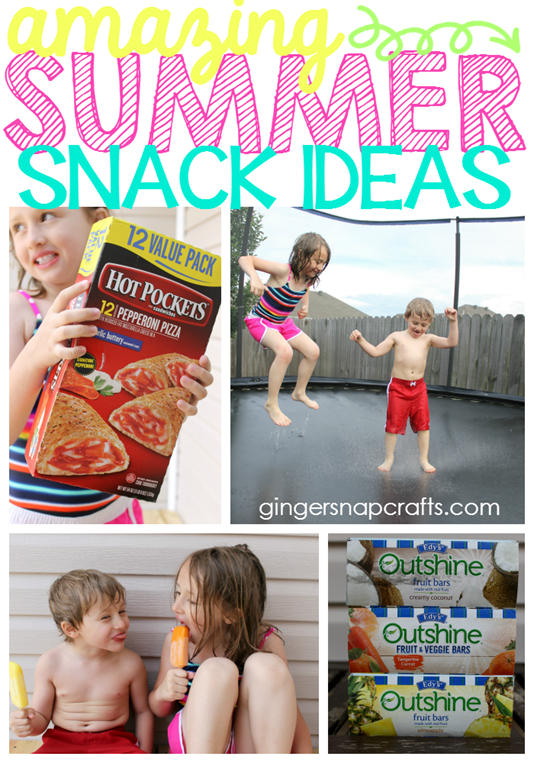 Amazing Summer Snack Ideas at GingerSnapCrafts.com #SummerGoodies #CollectiveBias #shop