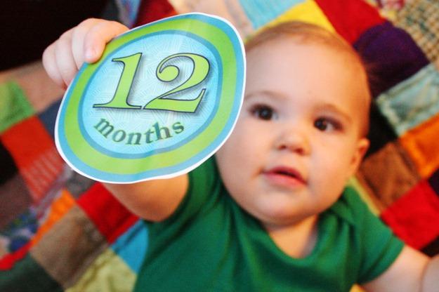 Nash is 12 months!!! 012