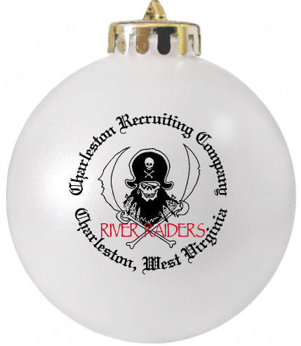 Recruiting Company Logo Christmas Ornament  designed at http://www.fundraisingornaments.com