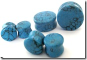 teal-stone-double-flare-stone-ear-plugs