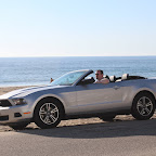 Me and the Mustang on Malibu beach