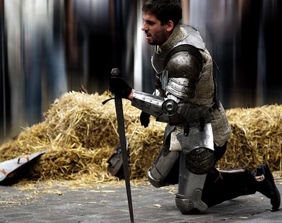 Kneeling Knight