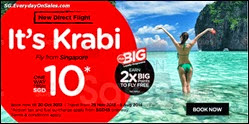AirAsia Direct Flight to Krabi 2013 Promotion Singapore Deals Offer Shopping EverydayOnSales