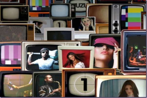Televisores-Clipes-Músicas