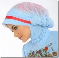 Kreasi Jilbab Cantik Modern