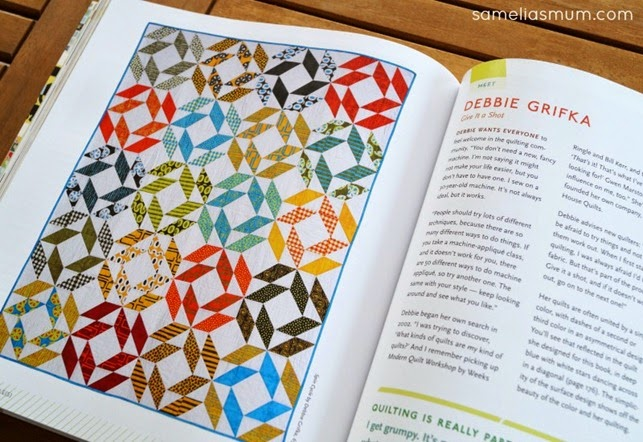 Quilting with a modern slant 1