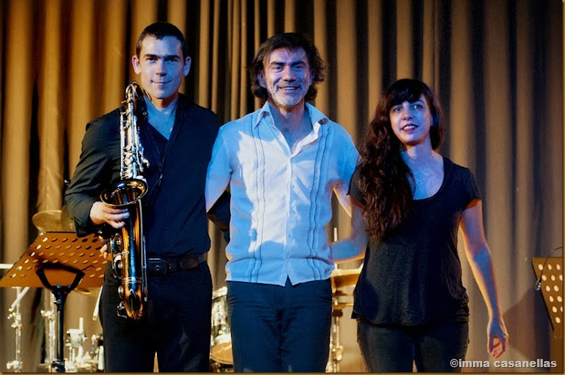 Sylvain Cathala, Christophe Lavergne i Sarah Murcia, Barcelona 2013
