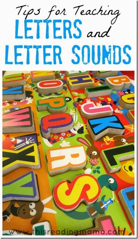 Tips-for-Teaching-Letters-and-Letter-Sounds #alphabet #preschool #kindergarten