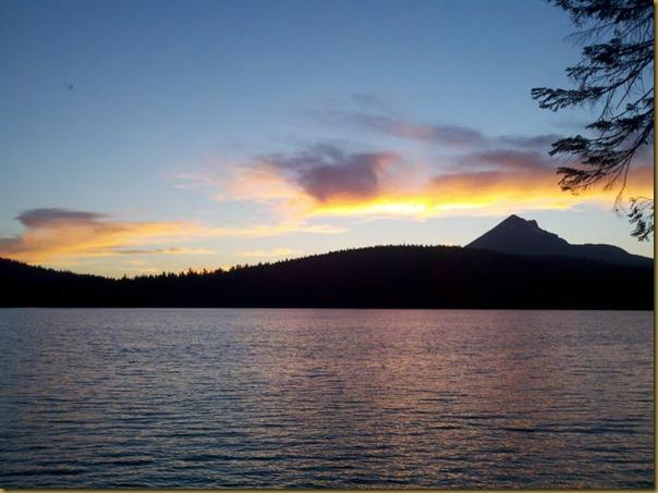 sunset at aspen point