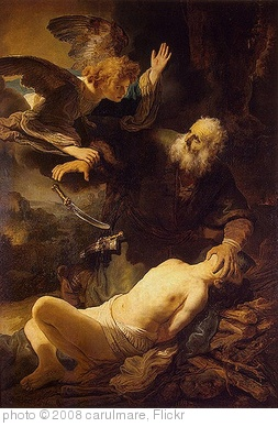 'REMBRANDT Harmenszoon van Rijn Sacrifice of Isaac, 1635' photo (c) 2008, carulmare - license: http://creativecommons.org/licenses/by/2.0/