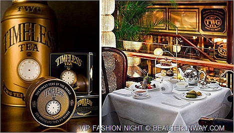 Marina Bay Sands TWG Tea Salon & Boutique Set dinner The Shoppes VIP Fashion Night Men women luxury