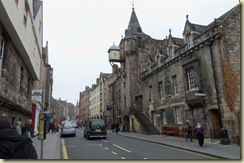 Walking back up the Royal Mile Hill (Small)