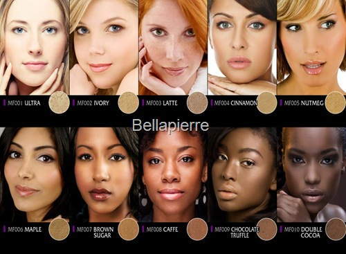 Bellapierre foundation-shade-matcher