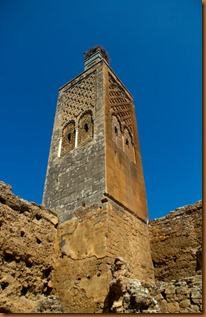 Rabat, minaret in ruins