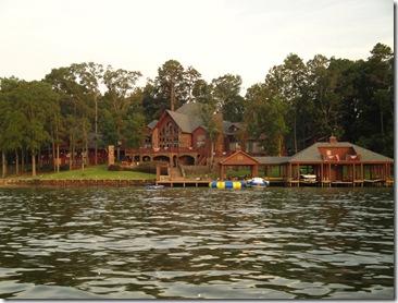 3.  Lake house