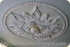 декора потолка медальоны