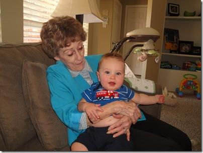 3.  Knox loves Mamaw