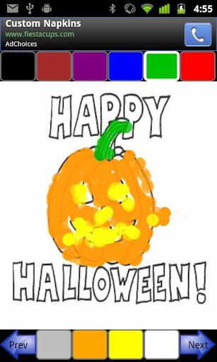 Coloring For Tots Halloween