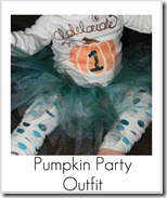 pumpkin party outfit