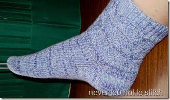 2010 Tidal Wave socks too short