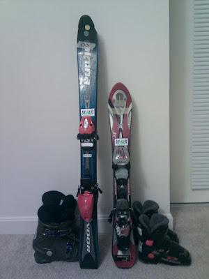中古スキー板・ブーツ