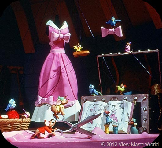 View-Master Walt Disneys Cinderella (B318), Scene 4