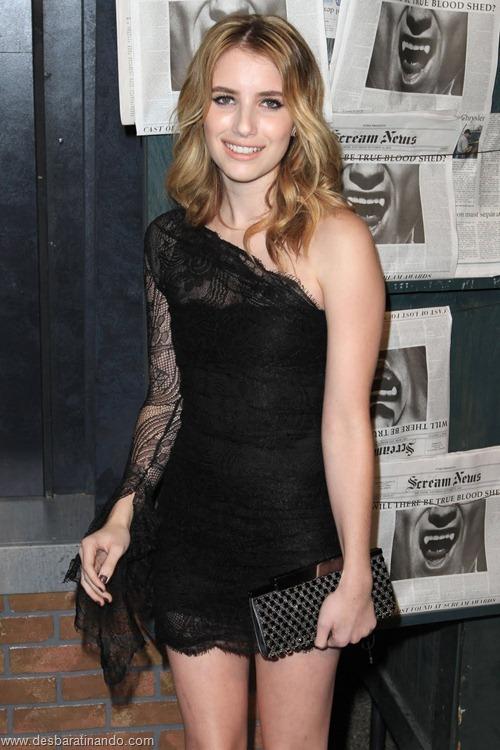 Emma Roberts linda sensual sexy sedutora desbaratinando (103)