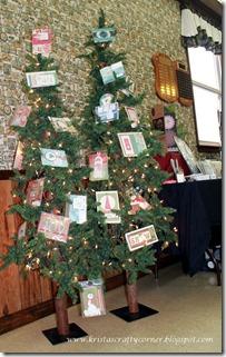 Christmas Card Making day 2012_Christmas trees