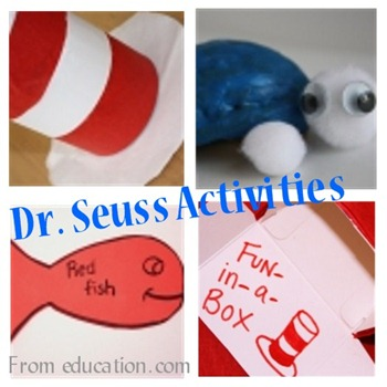 ed com seuss activities