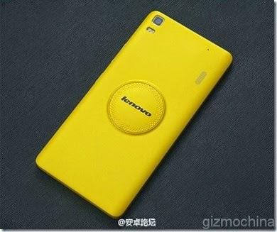 Lenovo K3 Note back