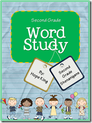 Second Grade Word Study II