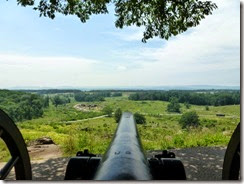 View of the Battlefield from Little Round Top