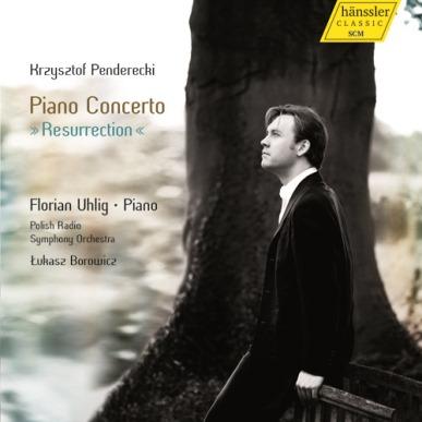 Krzysztof Penderecki: PIANO CONCERTO 'RESURRECTION' (hänssler CLASSIC CD 98.018)