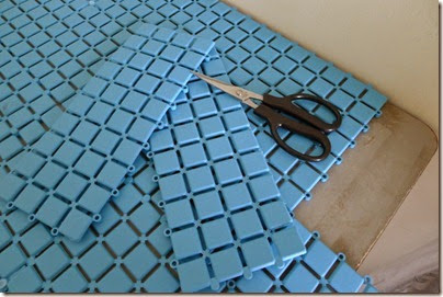 multipurpose anti-slip floor mat as table mat