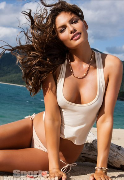 American fashion model Alyssa Miller