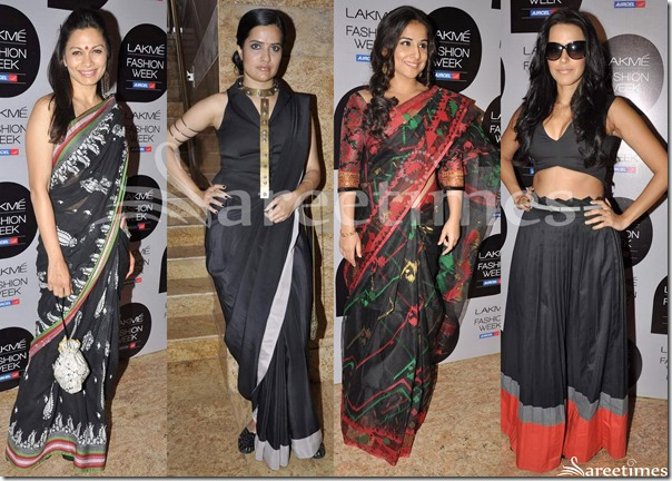 Black_Saree_Fashion_March_2013(1)